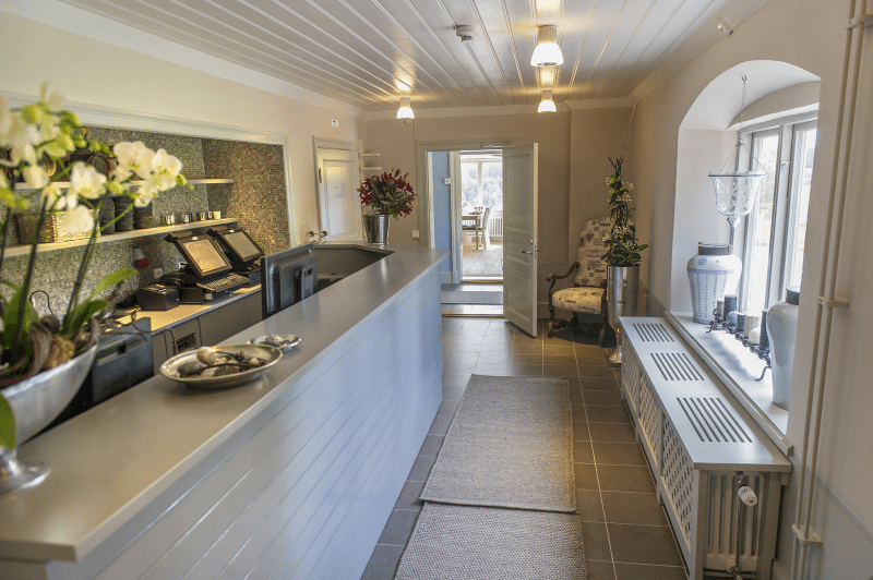 fredriksborgs hotell reception