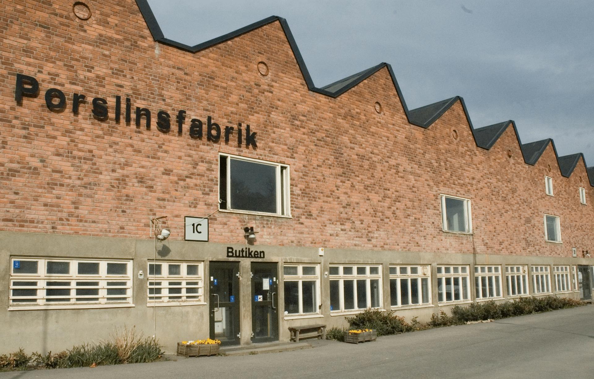 Gustavsbergs Porslinsfabrik utifrån