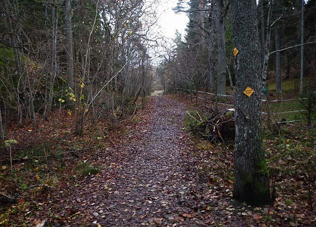 gottholmarundan trail