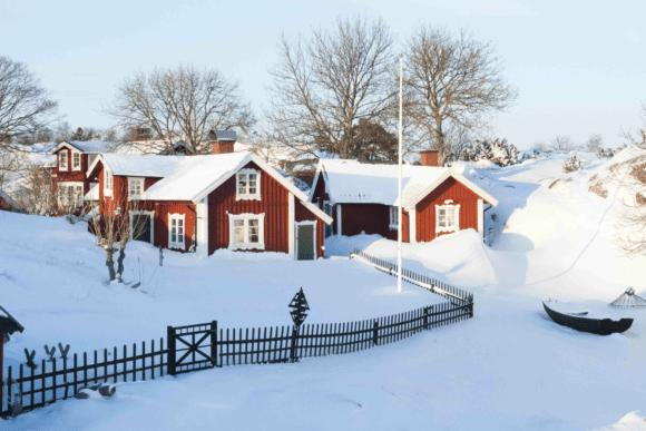 bullerö på vintern 2