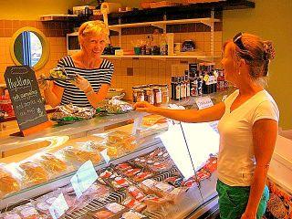 livsmedelsbutik på harö