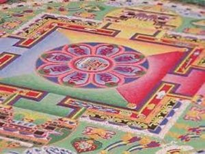 mandala målning