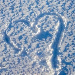 alla hjärtans dag snö